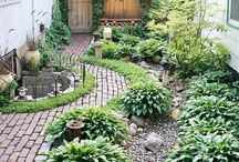 Garden ideas / Outdoor styling and garden inspiration. Green rooms for the soul.