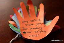 teacher card / by Michelle Michaels Freibaum
