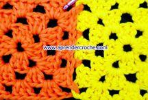 Como unir quadradinhos de croche