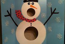 Snowman Penguins Winter Teaching Units Scrapbooks / Let It Snow Parties Teaching Theme Scrapbooks  / by Lynn McRea