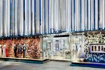 Verslanir // Retail / Verslunarrými, verslunarmiðstöðvar og hönnun verslana // Storefront design, retail spacial design, commercial real estate design