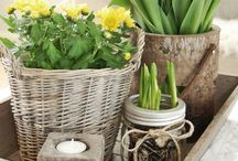 Bloemen en gezelligheid