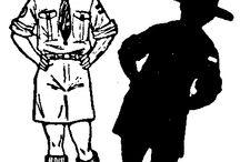Baden-Powell / Baden-Powell, le fondateur du scoutisme, était un dessinateur hors pair. Voici une sélection de ses dessins, publiés pour Scouting for boys notamment.  Drawings by Baden-Powell, founder of scout movement.