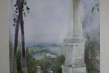 CREPAND / Petit village du Nord Côte d'Or où s'est illustré le fils de Garibaldi en 1871 face aux prussiens