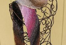 Diagonal scarf / Noro yarn