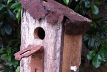 Interesting Bird Houses / These are images that I will add more boards for, and make them more specific