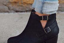 Just Shoes / Basically black boots