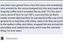 Gerard and mikey