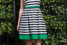 Let's say dresses