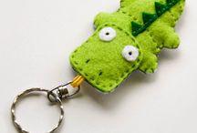 Přívěsky na klíče, mobil, kabelku