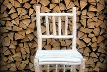 Wooden furniture made of birch