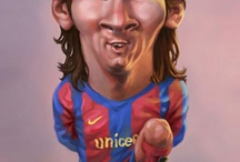 Caricaturas de Messi