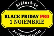 Black Friday PRO 2013 / De 1 noiembrie, toate modelele Nikon PRO si accesoriile Lowepro, Velbon, Sandisk, Lexar, Marumi si Joby din Yellow Store sunt reduse cu pana la 50%!
