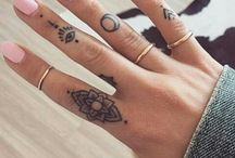 Finger tattoo/and other