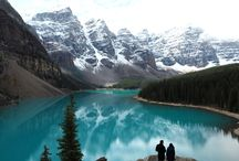Moraine Lake / Canada / One of the most beautiful lake I've ever seen: Moraine Lake in Banff National Park!