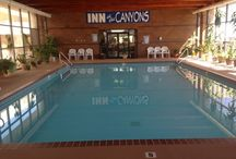 Inn at the Canyons / Monticello is located at the feet of the 11000 foot Abajo Mountains, not far from Canyonlands National Park.
