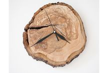 Wall Clocks from ECO collection / Handcrafted wall clocks. Each item is unique.