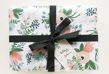 Packages. / Because we're fans of gifts and giving and brown paper packages tied up with string.  / by Walls Need Love