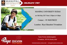 Manipal University Delegate Visit- RIya Education Pvt Ltd