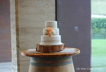 Wedding Cakes / Wedding cakes created by Lily May Cake Design......