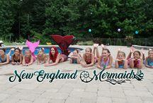 New England Mermaids / Mermaids from New England Mermaids. Massachusetts, Connecticut, Rhode Island, New Hampshire, Vermont, Maine, Cape Cod, Martha's Vineyard, Nantucket, Boston, and more!