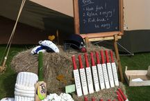 Cricket Themed Event