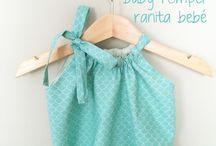 Bebé roupas diy