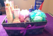 Pure Romance Gift baskets