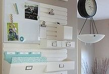 Office, Craft Room: Organization & Decor