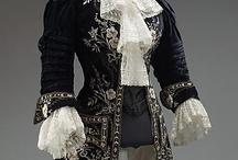 Historique / Des robes des siècles passés, côté Europe et Amérique.