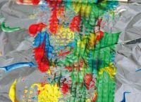 Bricolage Peinture / Activités autour de la peinture pour les petits