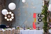 Industrial Chic Wedding // / Turned on by industrial chic weddings? Follow this board!