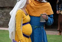 Postnatal Pennsic / Garb and gear for surviving motherhood in the Sca