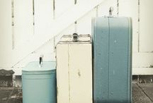 Suitcase | Trunk / Love Suitcases...... And all their uses. / by Tarnya Harper