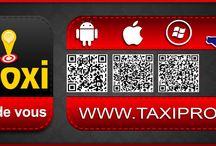 APPLICATION TAXI PROXI / WWW.TAXIPROXI.FR