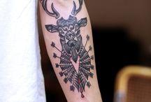 Everyone got tattoos. Except S.