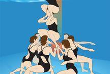 Senkronize Yüzme
