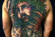 Religious tattoos / #Religious #Heaven #Holy #Guardian #Angel #Angelwings #Wings #Doves #Rosary #Cross #Virgin #Mary #Jesus #God #Believe #Faith #Tattoo #Tattoos #Tattooed #Skinart #Tat #Tattooart #Art #Design #Tattoodesign #Tatooisme #Tattooism #Ink #Inked
