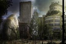 Een 100 jaar verlaten Nederland, hoe zou dat eruit zien? / Natuurlijk is dit een angstaanjagende gedachte. Helaas niet eens zozeer geheel fictie. Maar voor mij is een prachtig excuus om met Photoshop en mijn tekenkunsten mijn fantasie een digitale werkelijkheid te maken. Bekijk ook de videos: http://www.roykorpel.nl/Holland-2114