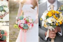 Succulents Wedding Ideas / Bouquets, Decor and Favors Ideas
