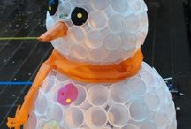 bonhomme de neige pour decor