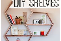 DIY Shelves / Give your space a lift with unique, DIY shelving units! Stop by our hardware store in Dyckesville to speak with an expert and get all the materials you need.