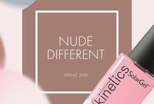 Kinetics. Colección primavera 2018 Nude