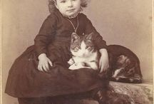 Victorian Cats&Kids Photography