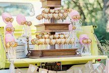 Торты и десерты / Идеи свадебных тортов, сладких столов и десеротов