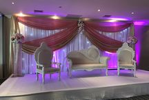 Styling   Asian Wedding   Enchanted Weddings Bristol / We offer a professional Asian Wedding Decorating service in the Bristol area.  With stunning backdrops, chair covers and table centrepieces.