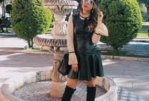 styling con vestido otoño