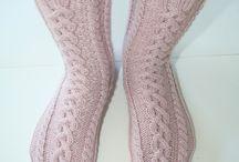 Eplabiter: Socks! Handknitted