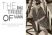 """The big tribe of man - Editorial / Fashion Editorial for """"So Simple"""" magazine July