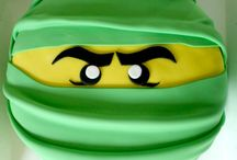 Lego Ninjago cake ideas. / Trying to find simple Lego ninjago birthday cake ideas that are achievable at home.